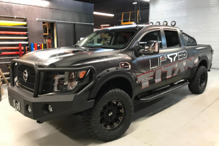 TITAN XD Gets Radical New Truck Wrap for the Chicago Auto Show