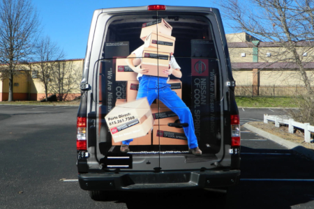 Custom Van Graphics Fabricated & Installed by 12-Point SignWorks