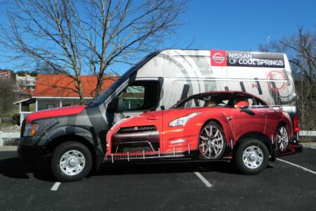 Full Van Wrap for Nissan of Cool Springs/ Franklin TN/ 12-Point SignWorks