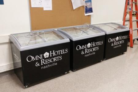 Freezer Wraps for Omni Nashville Hotel / 12-Point SignWorks