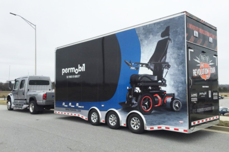 Box Truck Wrap for Permobil/ Fleet Graphics/ 12-Point SignWorks/ Franklin