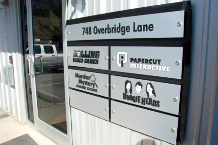 Custom Metal Directory Signage Fabricated & Installed By 12-Point SignWorks/ Franklin, TN