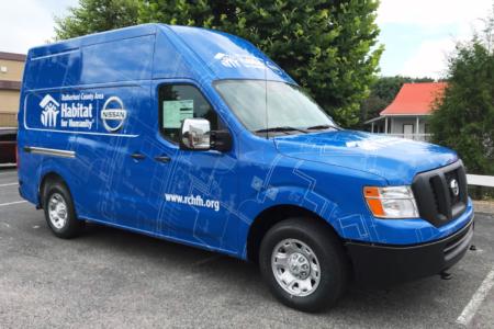 Van Wrap/ Fleet Branding for Habitat for Humanity/ 12-Point SignWorks
