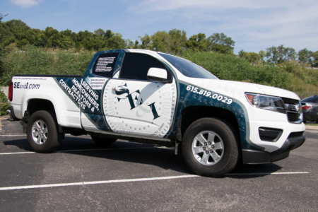 Truck Wrap for SE & I (Structural Engineering & Inspections)/ Fleet Branding
