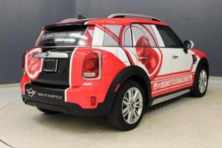 Vehicle Wrap for MINI of Nashville/ Fleet Advertising/ 12-Point SignWorks