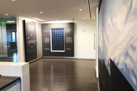 History Wall Display & Wall Mural for Silicon Ranch in Nashville/ 12-Point SignWorks