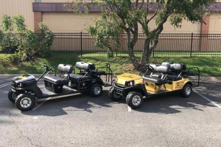 Custom Golf Cart Wrap for Vanderbilt University's Baseball Department