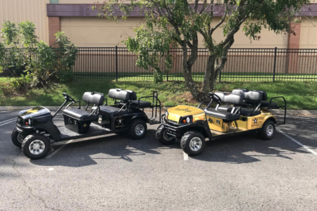 Golf Cart Wrap for Vanderbilt University/ Nashville, TN/ Fleet Graphics/ 12-Point SignWorks