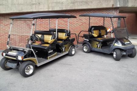 Custom Golf Cart Wrap for Vanderbilt University in Nashville, TN/ 12-Point SIgnWorks