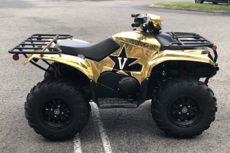 ATV Wrap for Vanderbilt University in Nashville, TN/ 12-Point SignWorks