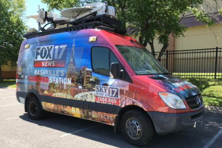 Fox 17 Custom Fleet Wrap/ 12-Point SignWorks/ Franklin, Tn/ Nashville, TN