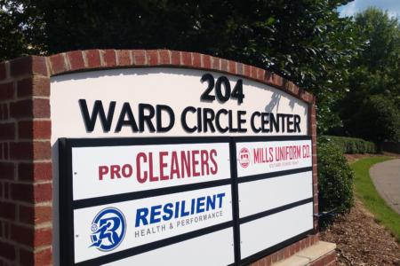 Directional Signage/ Logo Graphics for the Ward Circle Center/ Nashville/ 12-Point SignWorks