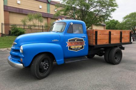 Custom Truck Decals installed by 12-Point SignWorks/ Franklin TN