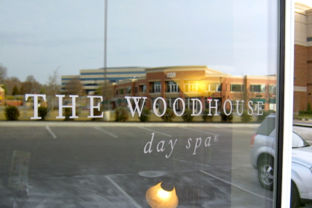 Window Graphics for The Woodhouse Day Spa Nashville, TN