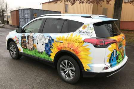 Custom Vehicle Wrap & Design/ Installed by 12-Point SignWorks