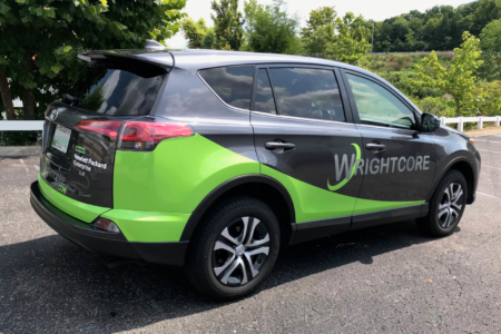 Vehicle Wrap for WrightCore/ 12-Point SignWorks/ Middle TN