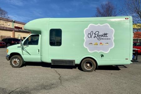 Food Truck Decals for ILovitt Cheesecakes in Murfreesboro/ 12-Point SignWorks Fabrication &Install