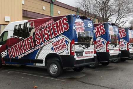 Custom Van Wrap by 12-Point SignWorks in Franklin, TN.