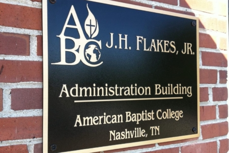 Custom building plaque. 12-Point SignWorks - Franklin TN