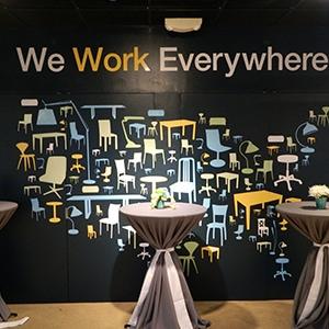Company Event Mural Design