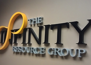 Infinity Resource Group Sign