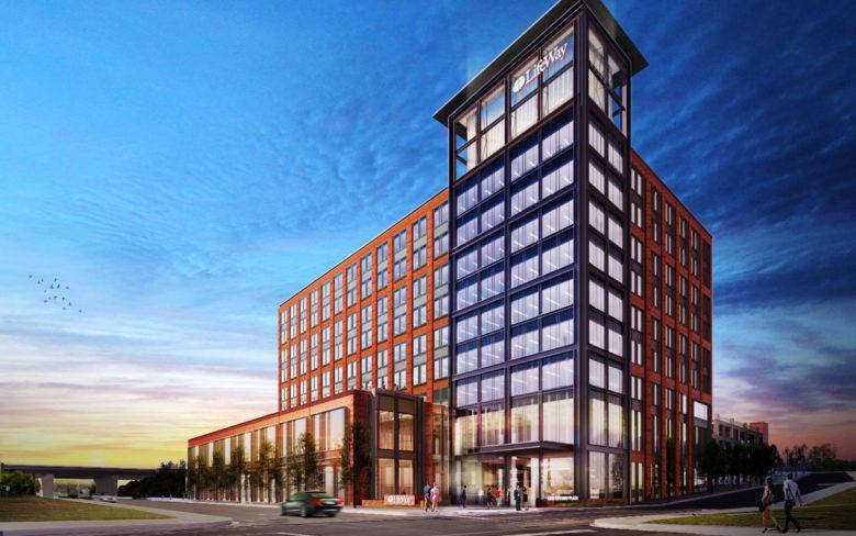 The new LifeWay headquarters building in Nashville, TN. 12-Point SignWorks - Franklin, TN