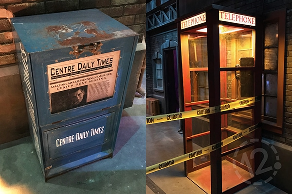 You can see this old newspaper box and telephone booth in the Knight Sky game. 12-Point SignWorks - Franklin, TN
