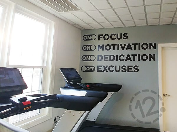 Motivational Words with Icons. 12-Point SignWorks - Franklin, TN