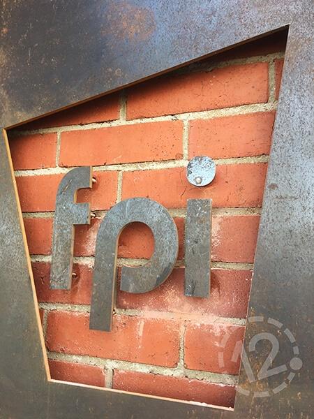 FPI floating letters. 12-Point SignWorks - Franklin, TN