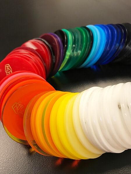 Standard acrylic colors. 12-Point SignWorks - Franklin, TN