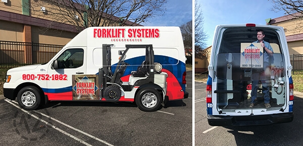 Forklift Systems Goes Bold With A New Anniversary Logo