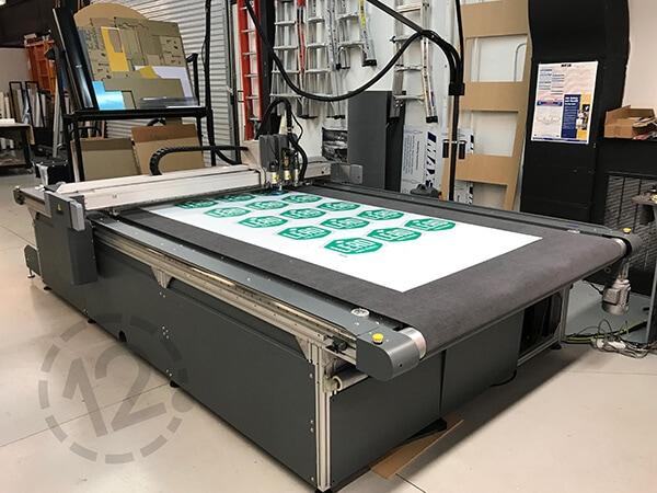 Flatbed Cutter at 12-Point SignWorks - Franklin, TN