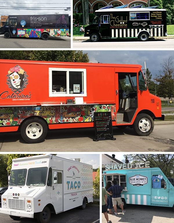 Awesome Partial Food Truck Wraps in Nashville