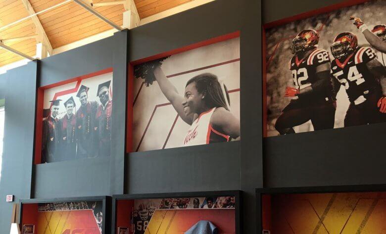 Wall murals for Virginia Tech University