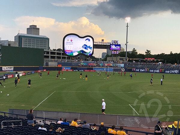Nashville Soccer Club banners. 12-Point SignWorks - Franklin, TN