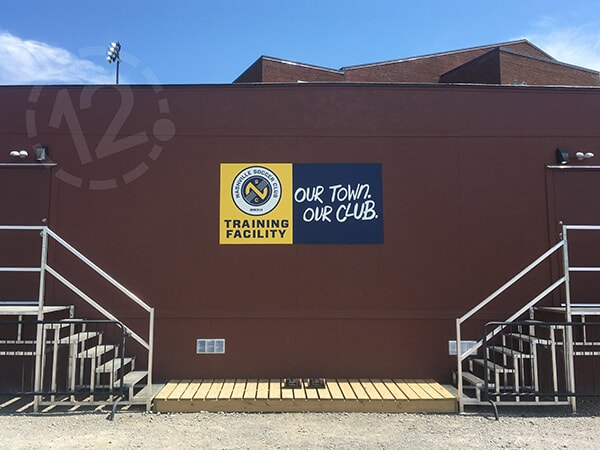 Nashville Soccer Club Training Facility Gets Bold New
