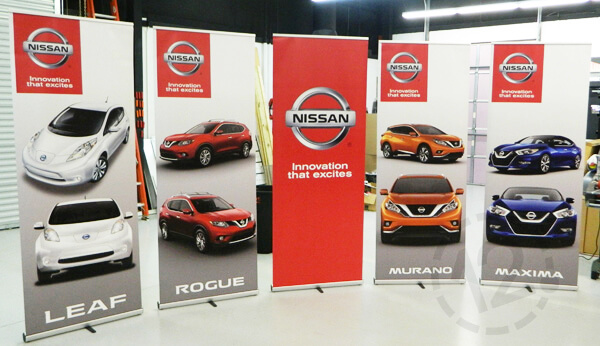 Why Retractable Banners Are Perfect For Portable Advertising - Car show banners