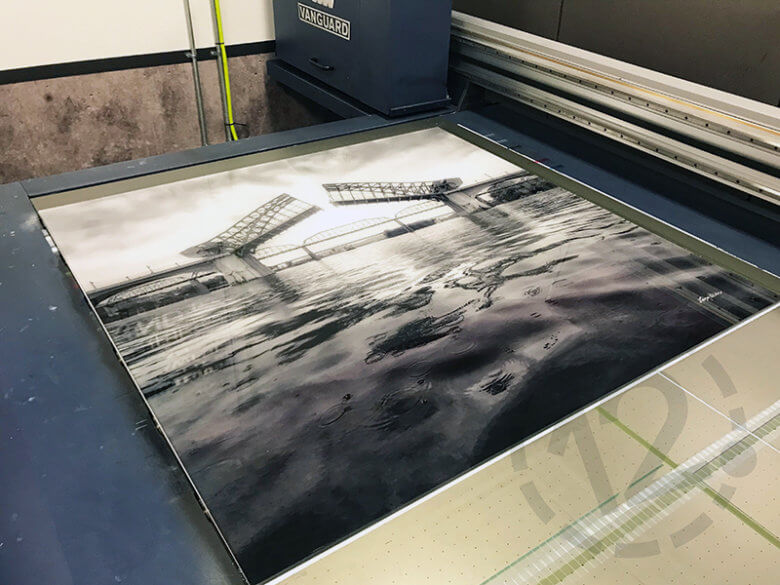 Example of second surface printing on acrylic. 12-Point SignWorks - Franklin, TN