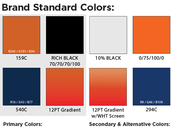 12-Point SignWorks Brand Colors
