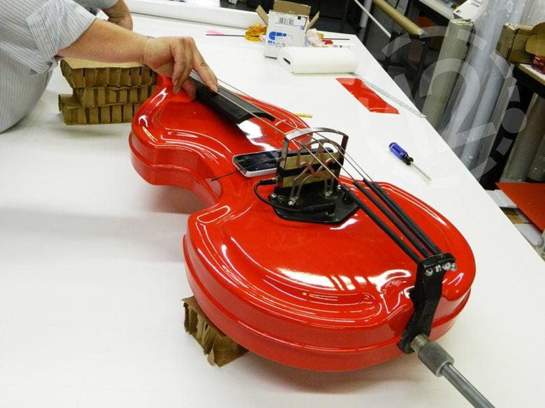 Custom wrap on Bass by 12-Point SignWorks in Franklin, TN.