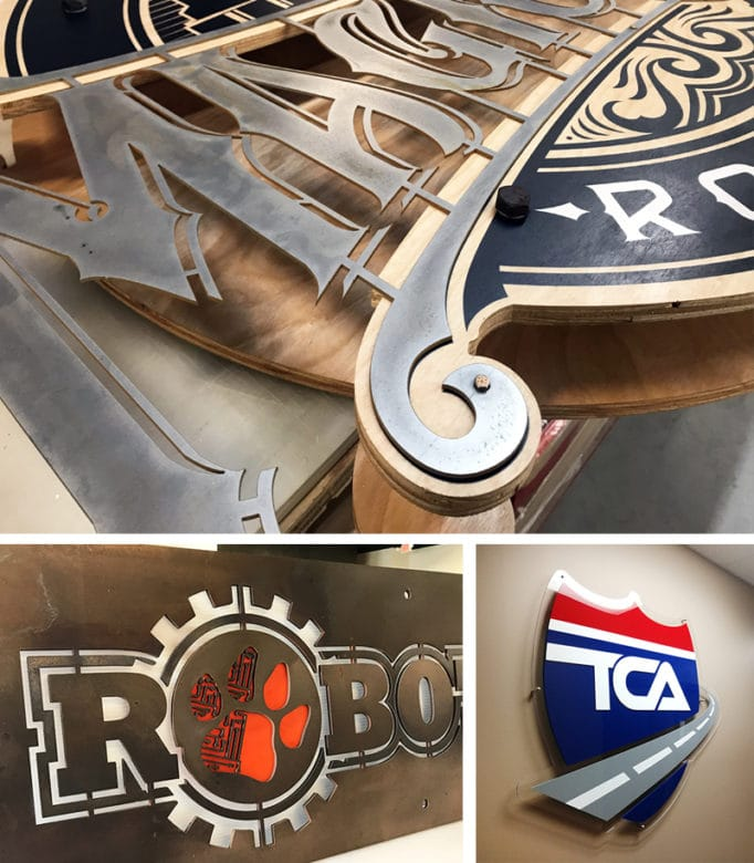 Custom signage by 12-Point SignWorks in Franklin, TN.
