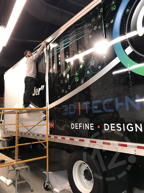 3-D Technology Goes Big with a Custom Box Truck Wrap - 12 ...