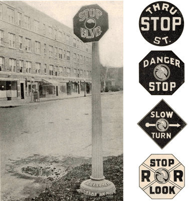 Manuel on Uniform Traffic Control Signage in 1927