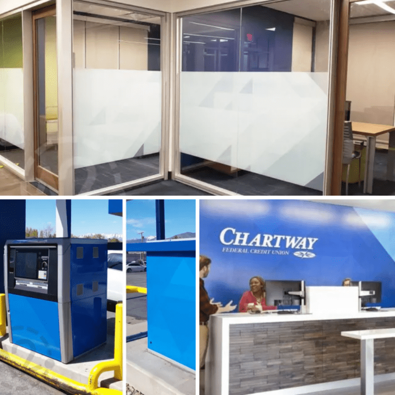Chartway Custom Signage Project by 12-Point SignWorks