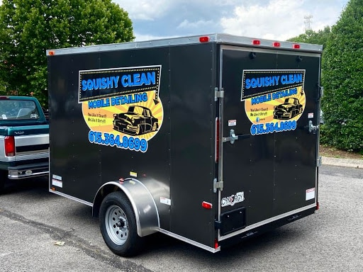 Squishy Clean's New Mobile Advertising Wrap by 12-Point SignWorks