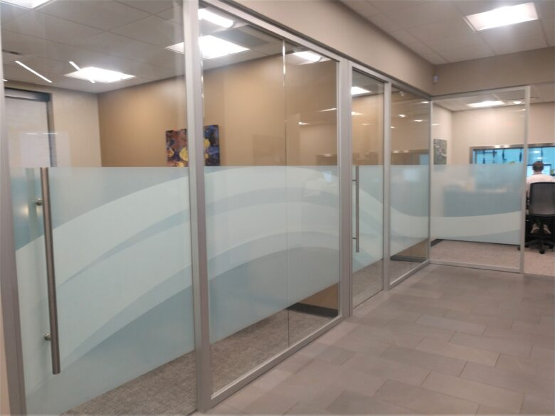 Privacy Window Vinyl for West Plains Bank & Trust Company
