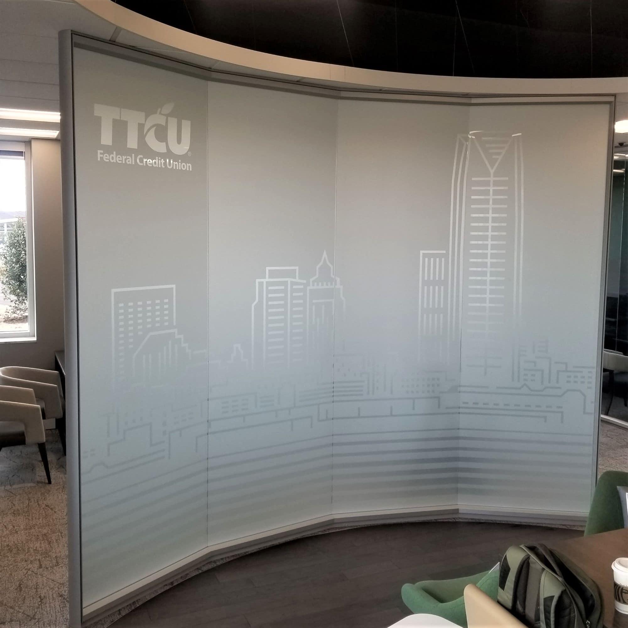 TTCU privacy window vinyl