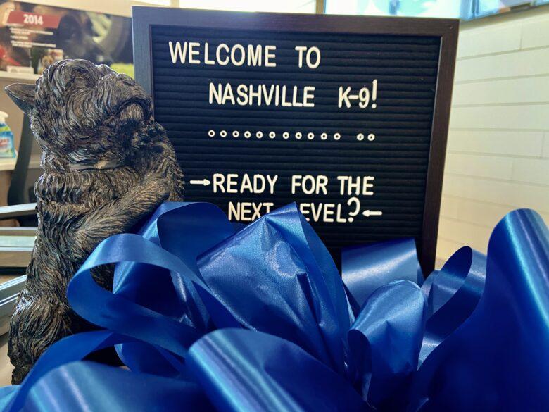 Nashville K-9's Facility Branding Project (12-Point SignWorks)