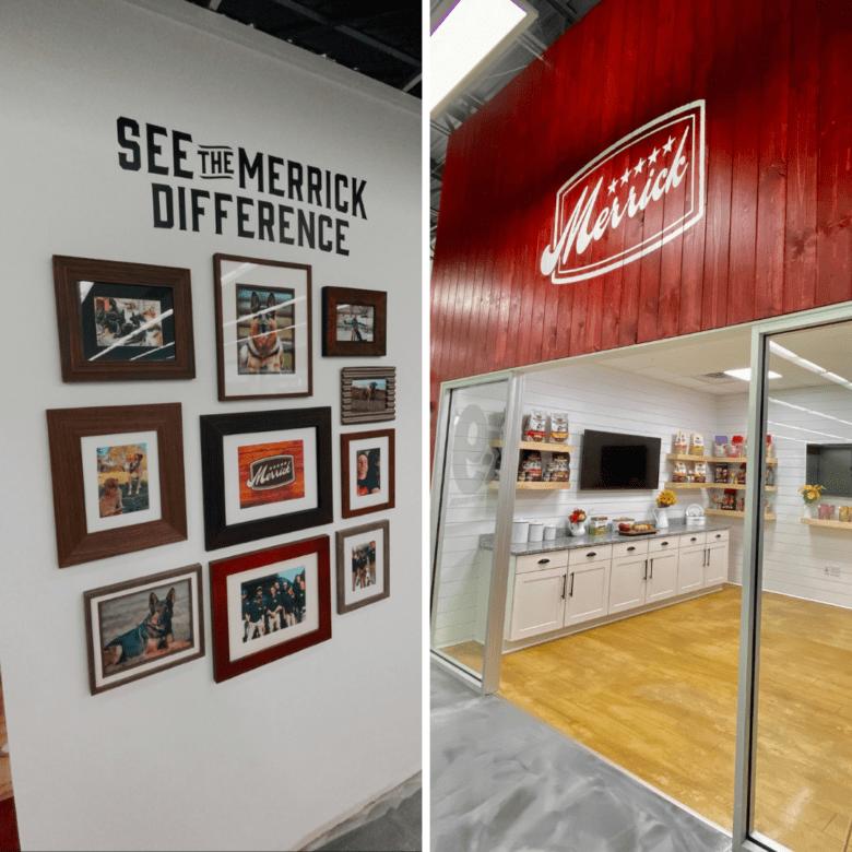 Facility Branding Graphics & Mural for Merrick (12-Point SignWorks)