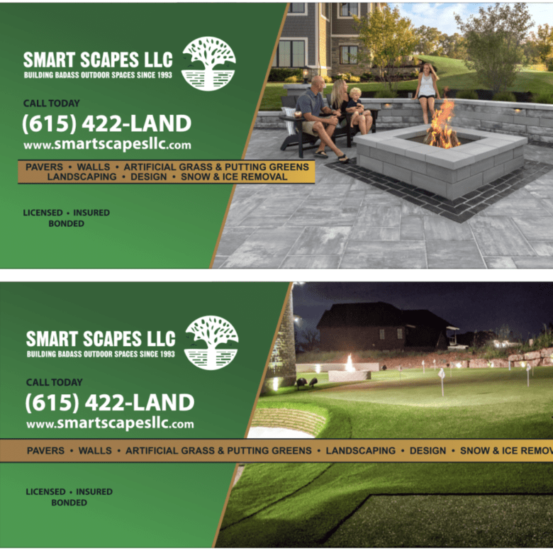 Proof Designs for Smart Scapes LLC Fleet created by Smart Scapes LLC